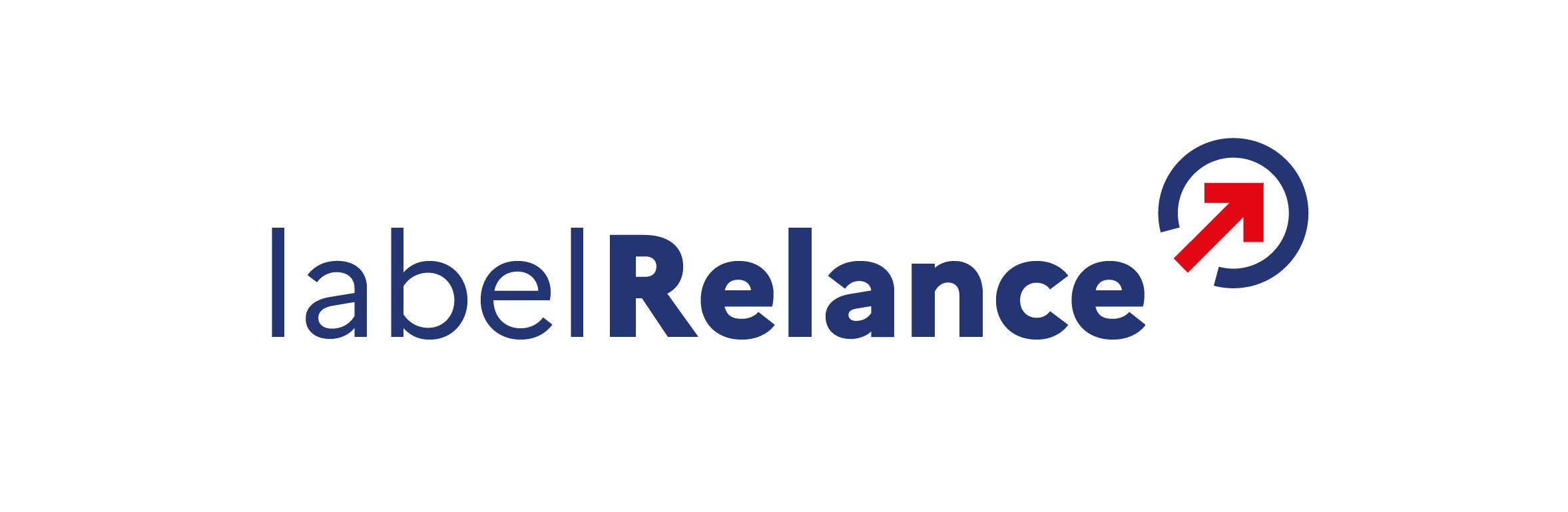 label relance