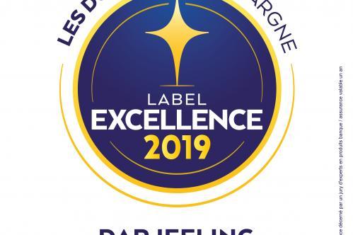 Label excellence Darjeeling