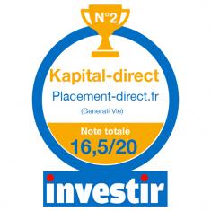 Classement Kapital-direct