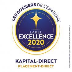 Kapital-direct Label d'Excellence 2020