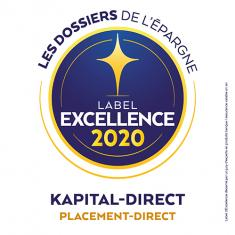 Kapital-direct Label d'Excellence 2020