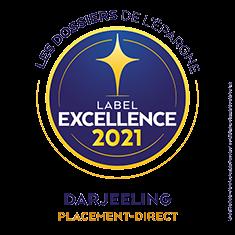 Darjeeling label d'excellence 2021