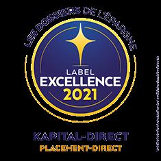 Kapital-direct label d'excellence 2021